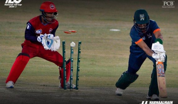 حیدر علی کی شاندار بیٹنگ کی بدولت ناردرن کی جیت